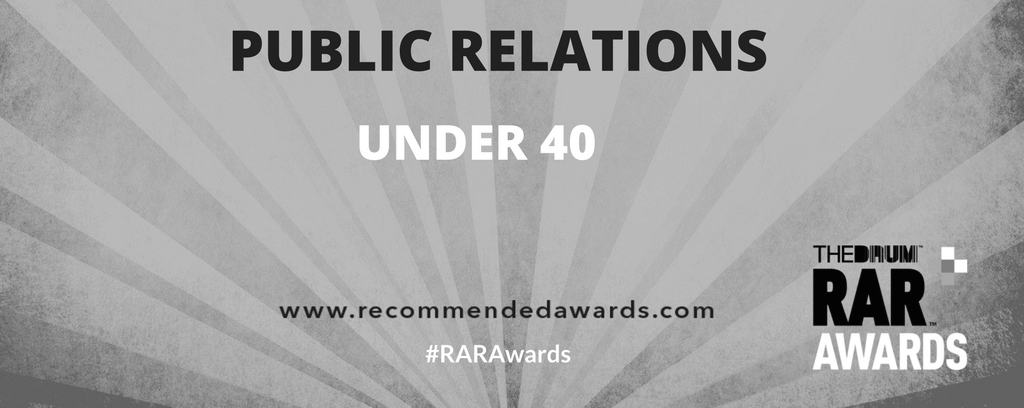 RAR AWARD NOMINATION PR