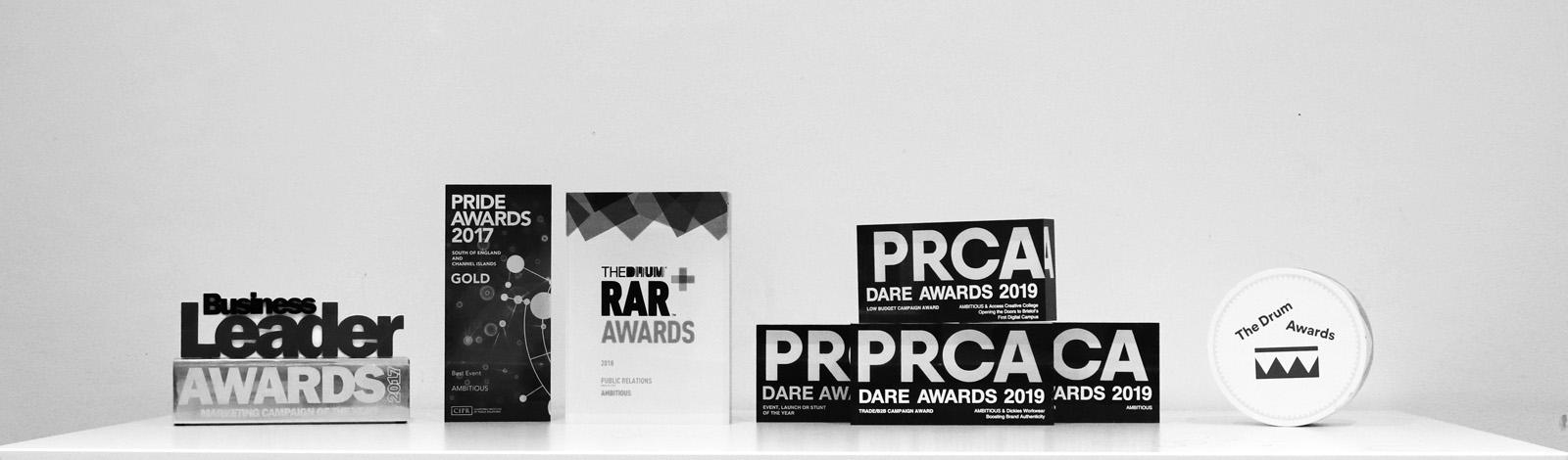 PR agency awards