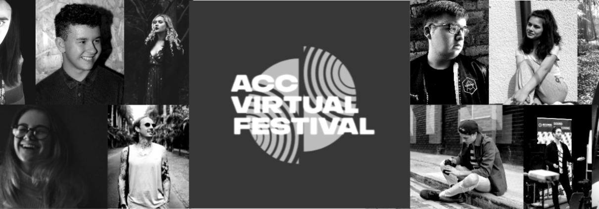 Students from ACC, a creative college, performing at virtual festival