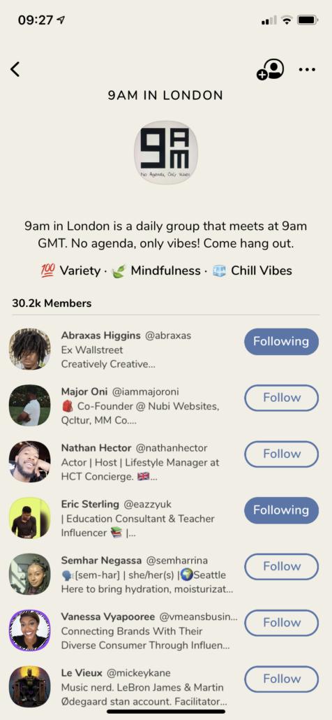 9am in London